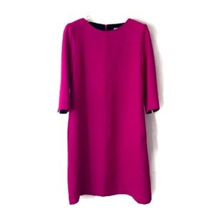 Tristan Dress long sleeve fuschia pink sz S